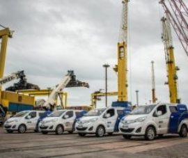 Carga y energía combinada para operar grandes proyectos en puerto de Montevideo